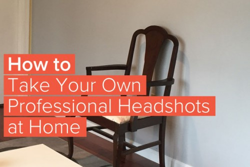 How to Take Your Own Professional Business Headshot By Yourself at Home