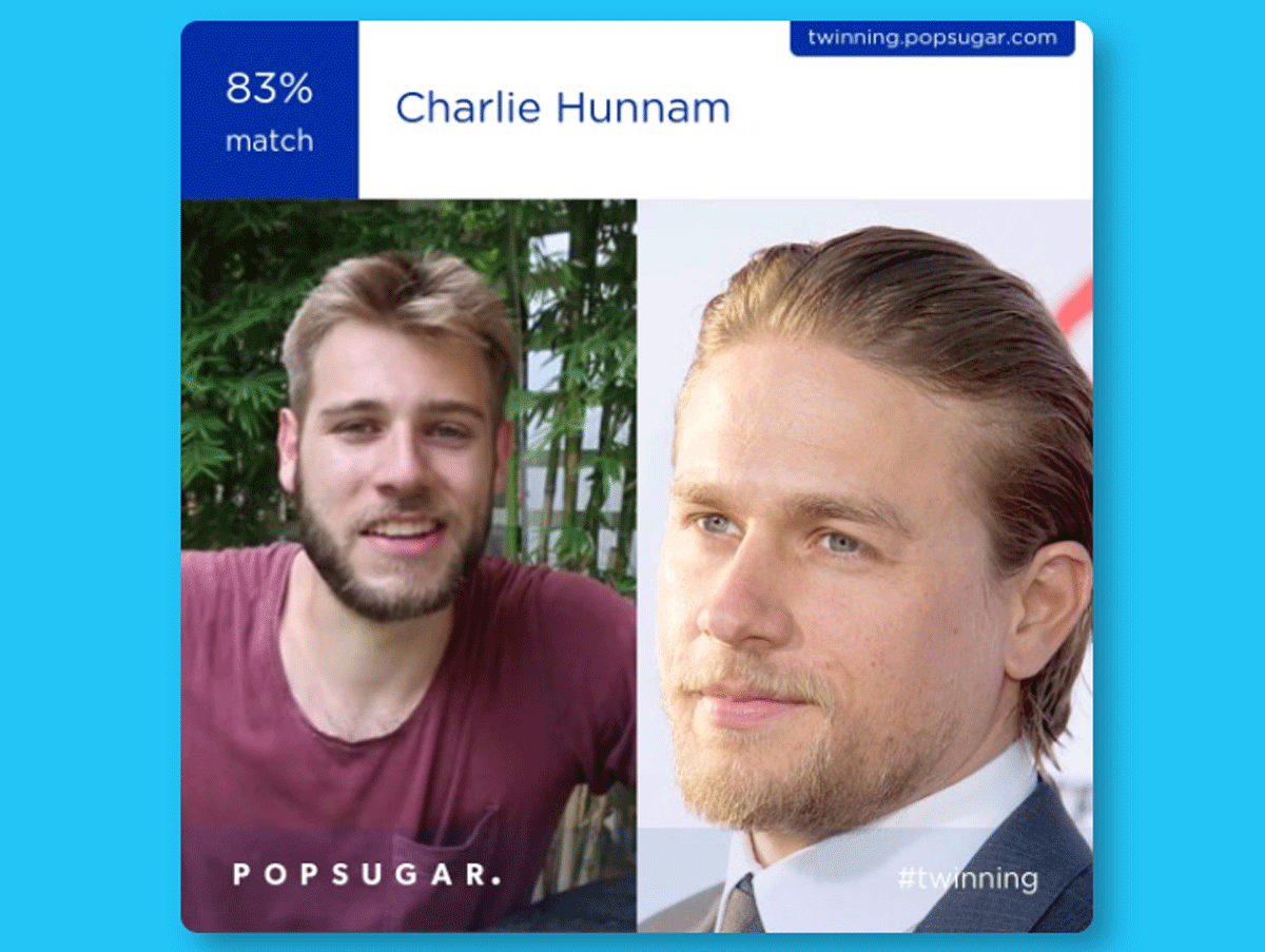I do look like which celebrity Which Celebrity